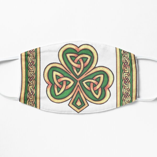 CELTIC SHAMROCK Mask