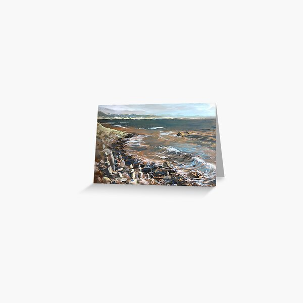 Portrait of the Sea  Greeting Card