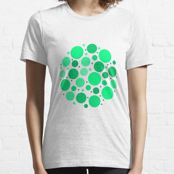 Circle Shaped Mint Bubbles Essential T-Shirt