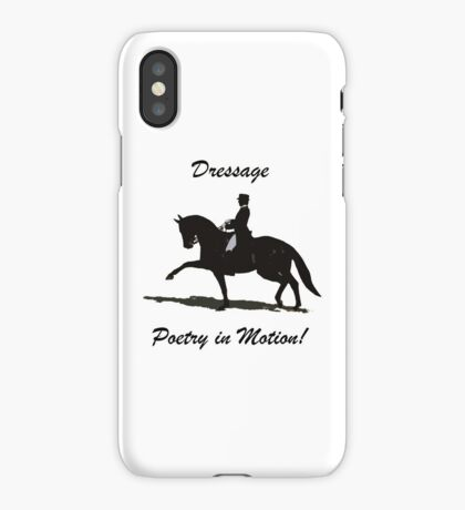 Dressage - Poetry in Motion iPhone, iPod & iPad Cases iPhone Case