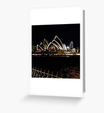 The Opera House, Sydney Greeting Card