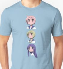 Yuzuko, Yui, and Yukari (ver. 1) Unisex T-Shirt
