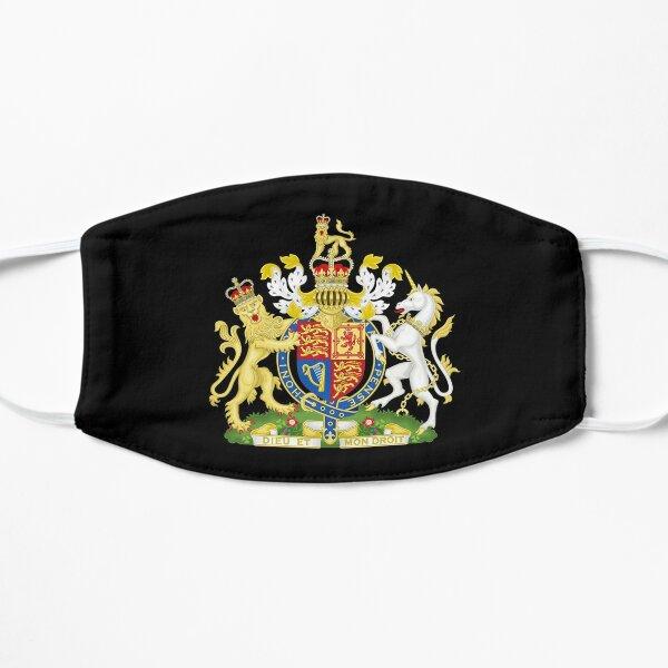 Armoiries royales du Royaume-Uni Masque sans plis