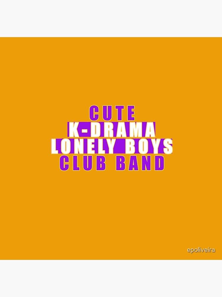 Cute  k-drama lonely boys club band by epoliveira