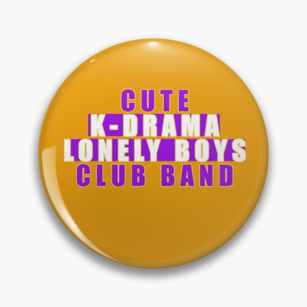 Cute  k-drama lonely boys club band Pin