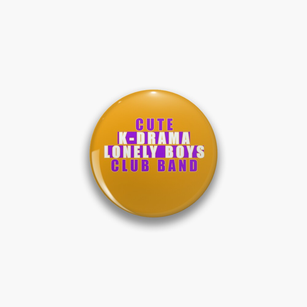 Cute  k-drama lonely boys club band Pin
