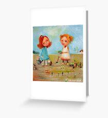 Little Gardeners Greeting Card