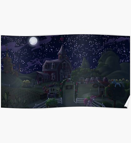 Sweet Apple Acres, Night Poster