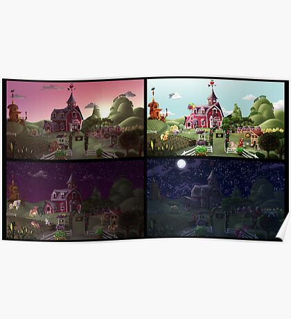 A Day on Sweet Apple Acres Poster