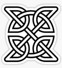 Celtic Knot Tribal Tattoo Sticker