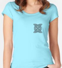 Celtic Knot Tribal Tattoo Women's Fitted Scoop T-Shirt