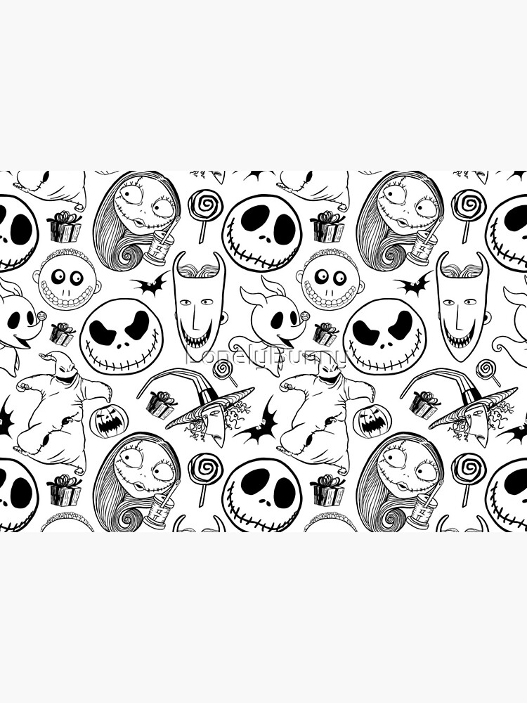 Nightmare before Christmas Pattern by LonelyBunny