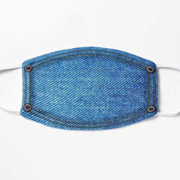 Masque en jean avec rivets Masque sans plis