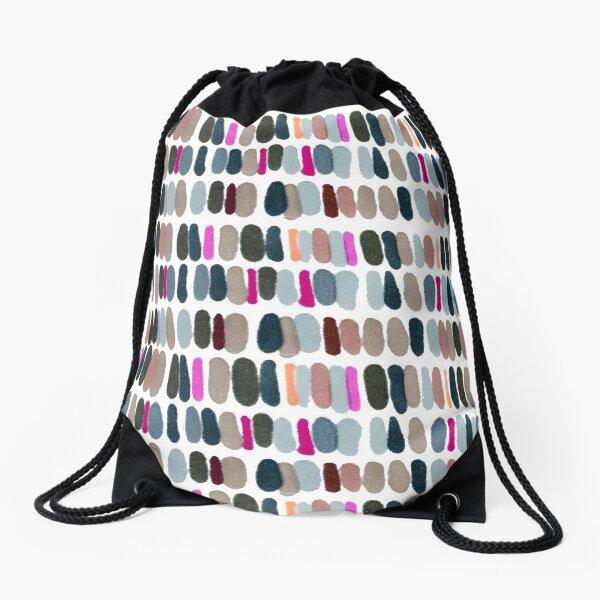 Coloured spots Drawstring Bag