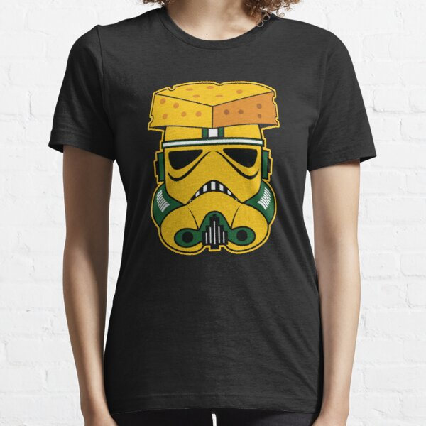 VINTAGE GREEN BAY IS A TROOPER CHEESEHEAD FUNNY SHIRT  Essential T-Shirt
