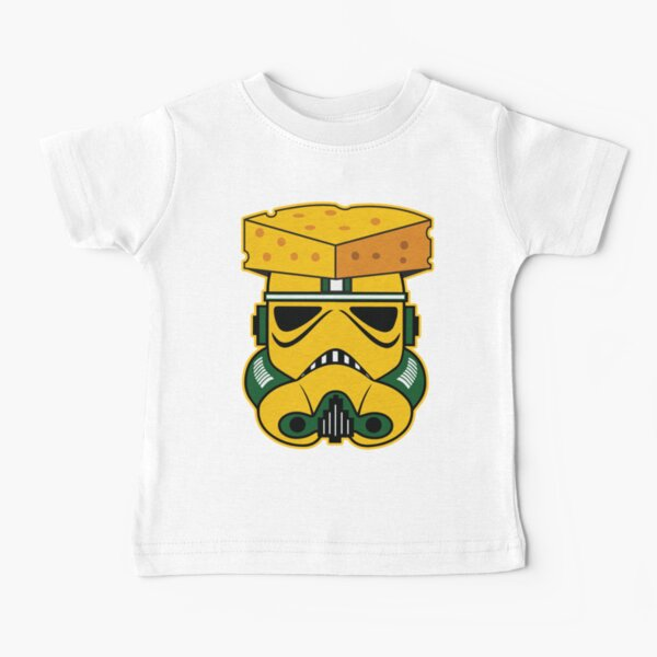 TRENDING CHEESEHEAD IS A GREEN BAY TROOPER VINTAGE KIDS SHIRT  Baby T-Shirt