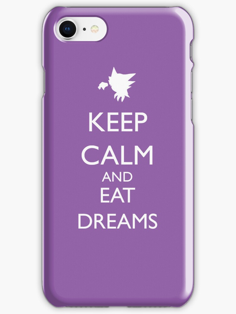 Keep calm and eat dreams by Chrome Clothing