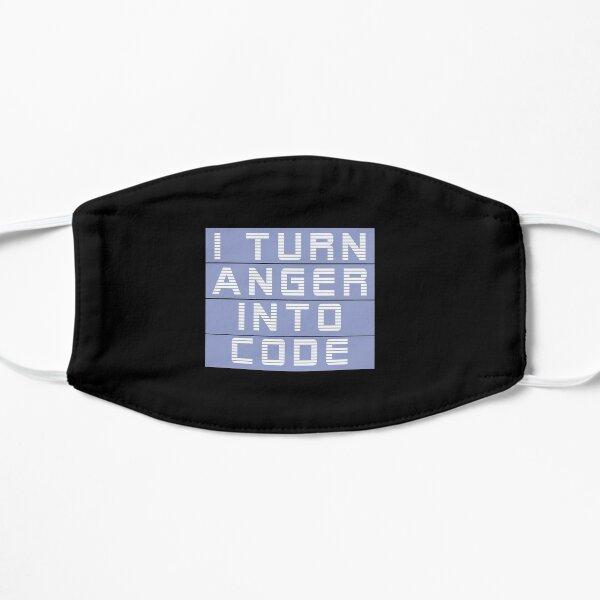 I turn anger into code girl programmer | GeekGirls Mask