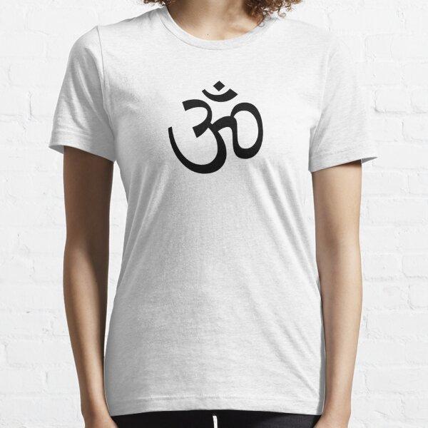 Ohm - Black Essential T-Shirt