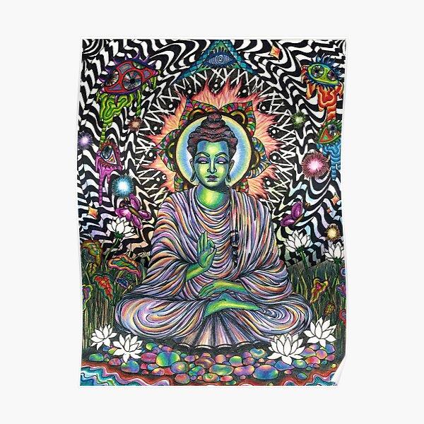 Acid Buddha Poster
