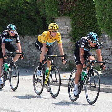 Sky Train - Tour de France 2012 by eggnog