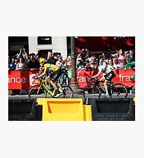 Tour de France 2012 - Wiggo & Cav in Paris Photographic Print