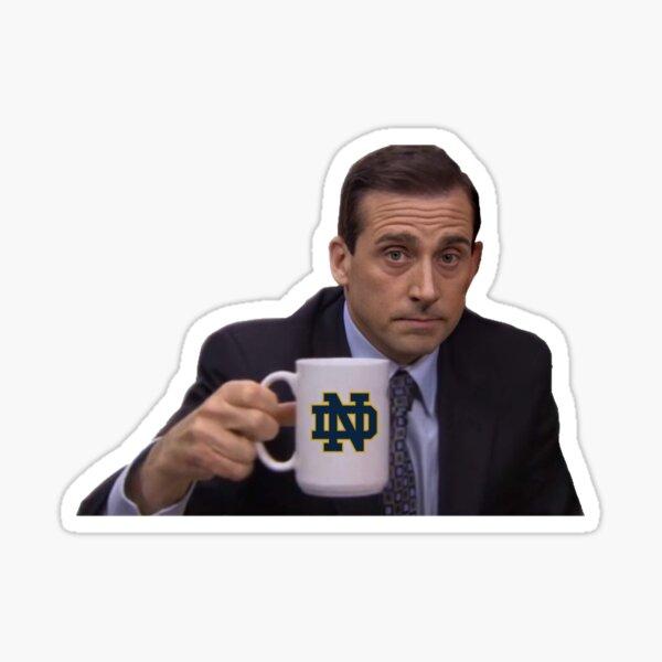 Notre Dame Michael Scott Sticker