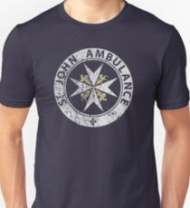 St. John Ambulance, distressed T-Shirt
