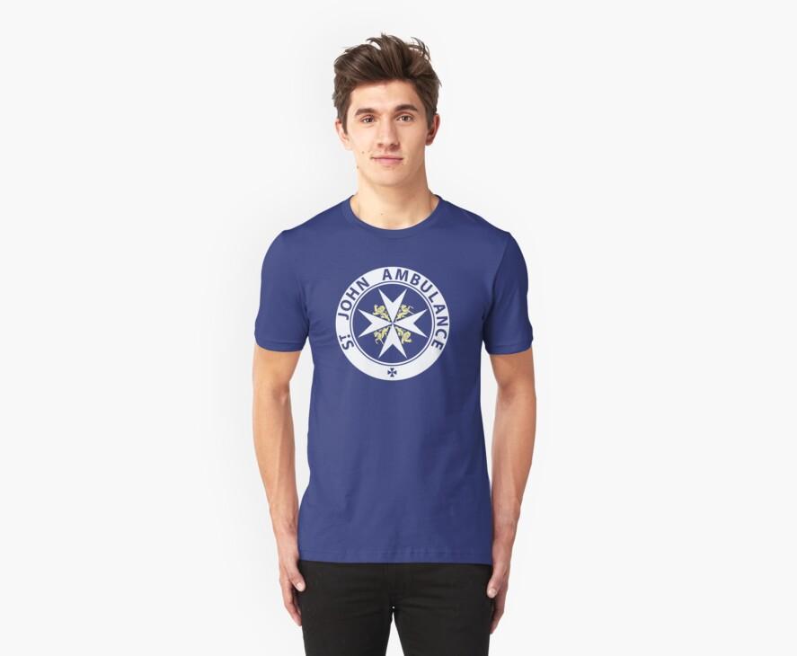 St John Ambulance Brigade T Shirts Hoodies By Stigur