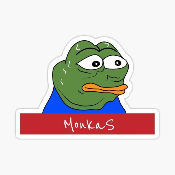 Feelsbadman MonkaS Pepe  Sticker