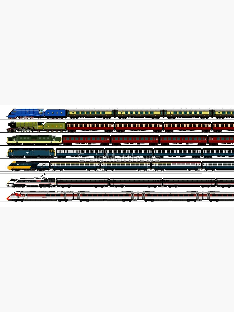 BRITISH TRAINS by CraigMatthews