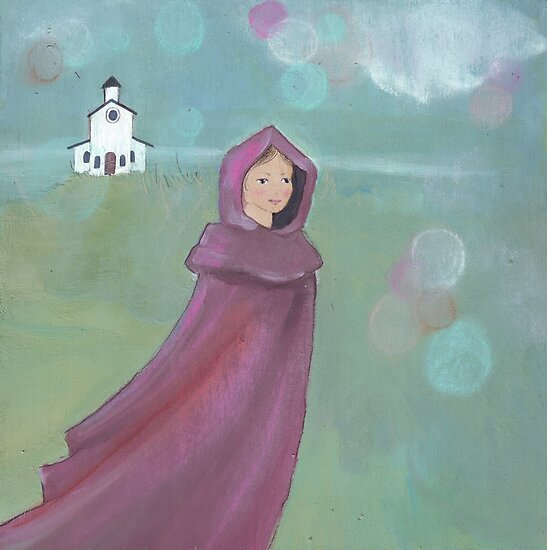 Coming from church by Helga McLeod