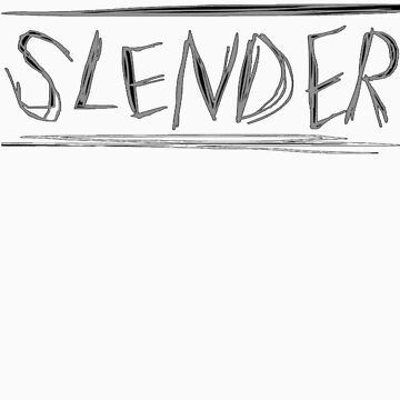 SLENDER game logo by lettucefiends
