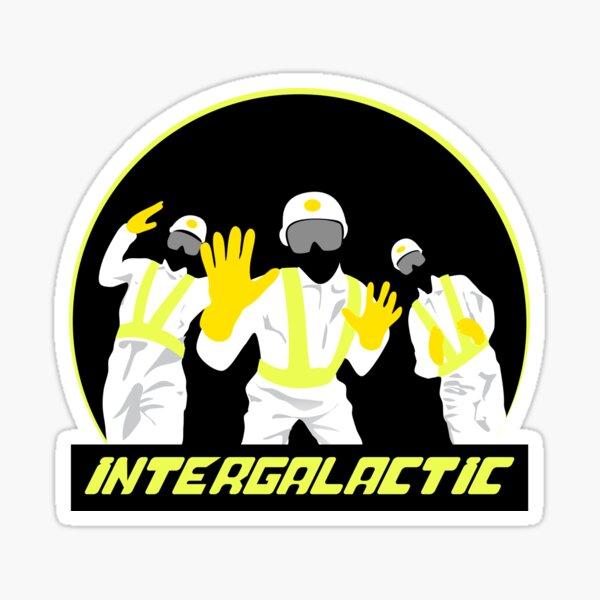 Intergaláctico Pegatina