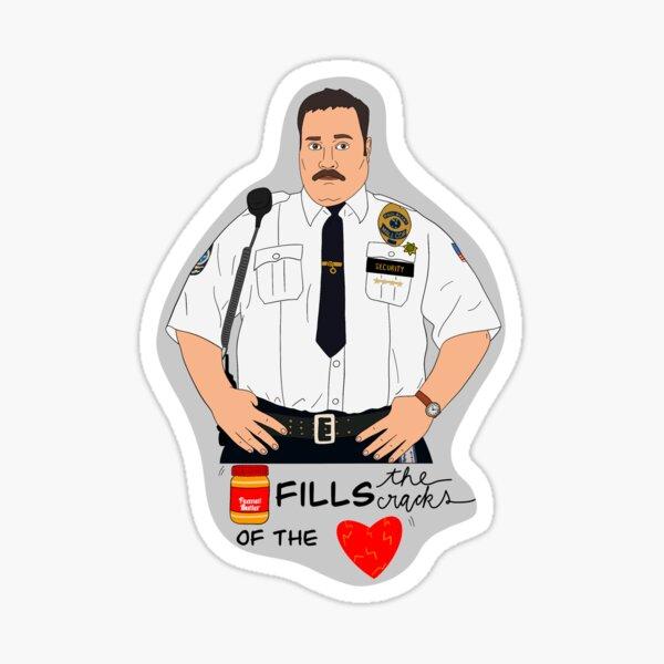 Mall Cop Sticker