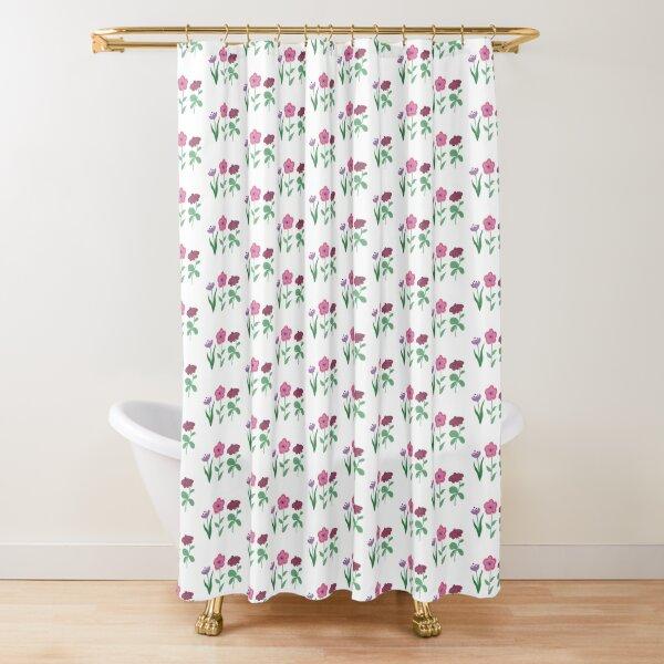 magic flowers Shower Curtain