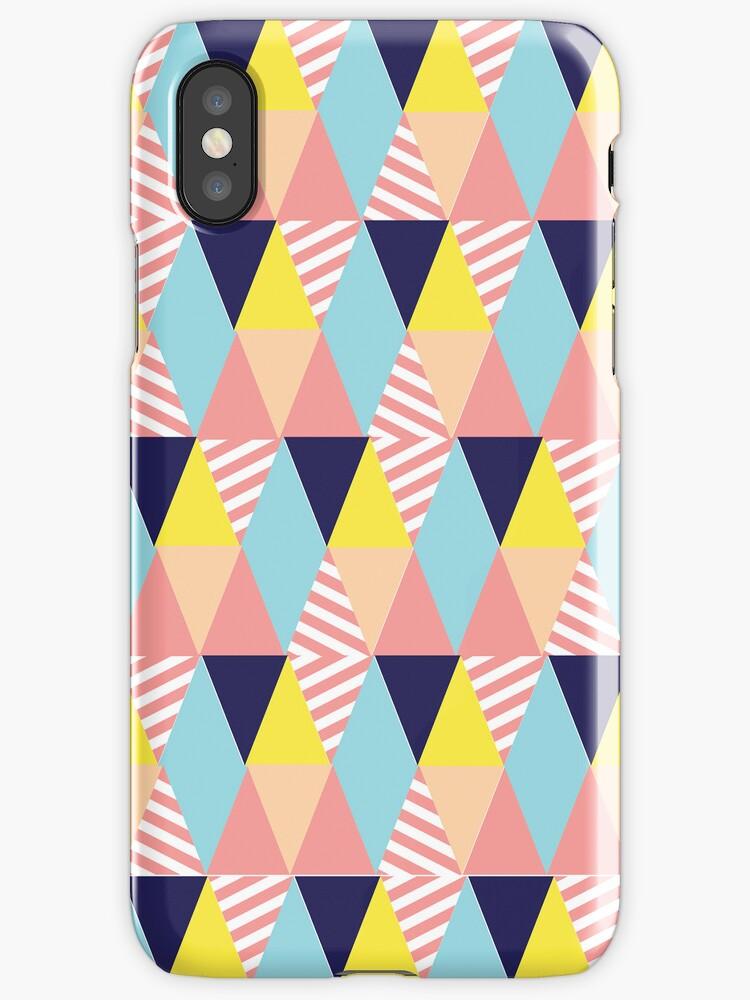 Modern Colorful and Girly Geometric by GirlyGirl