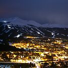 Night in Breck - Breckenridge, CO by Ryan Wright