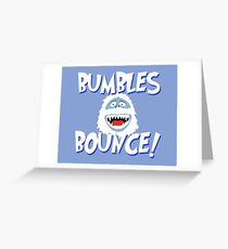 Bumbles Bounce! Greeting Card