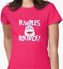 Bumbles Bounce! Womens Fitted T-Shirt
