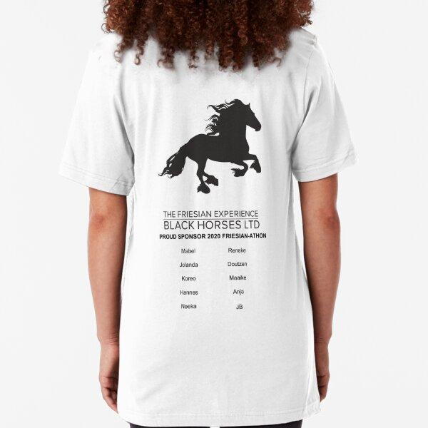 2020 Friesian-athon Sponsors Slim Fit T-Shirt