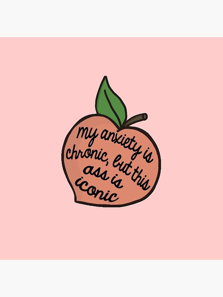 anxiety peach by hollyu16