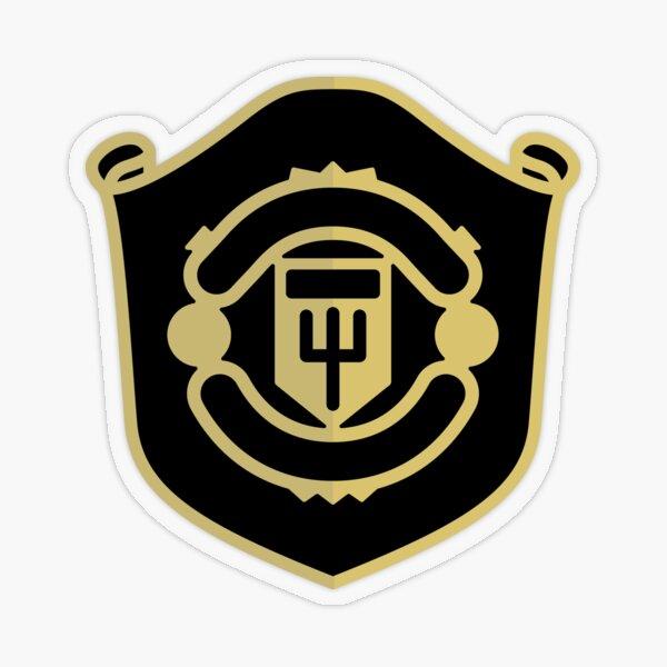 Man Utd emblem Transparent Sticker