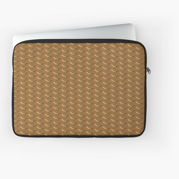 Old Fashioned Hunting Horn with Ribbon Laptop Sleeve