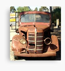Early 1940s Bedford Truck Canvas Print