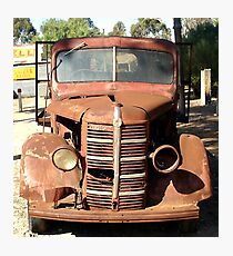 Early 1940s Bedford Truck Photographic Print