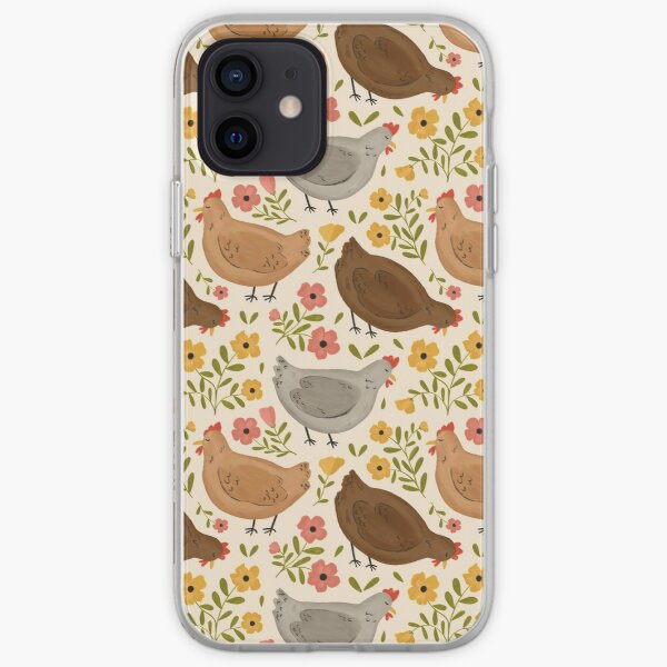 Springtime Chickens iPhone Soft Case