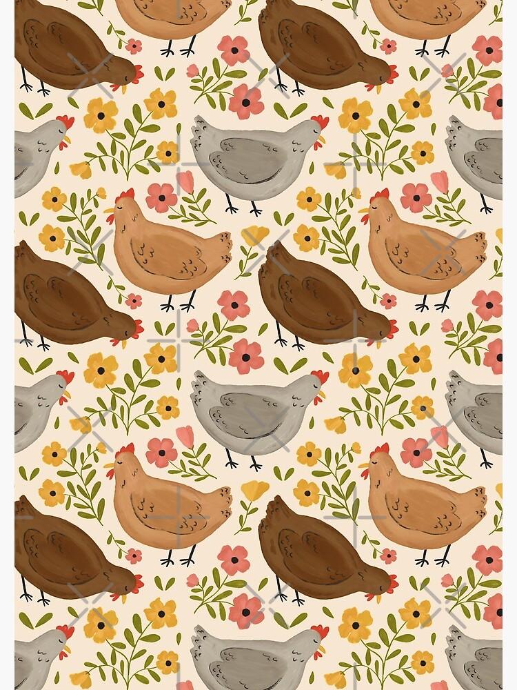 Springtime Chickens by ohjessmarie