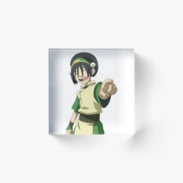 Toph Beifong Point and Laugh Avatar Acrylic Block