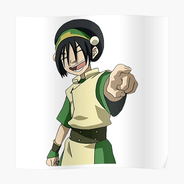 Toph Beifong Point and Laugh Avatar Poster